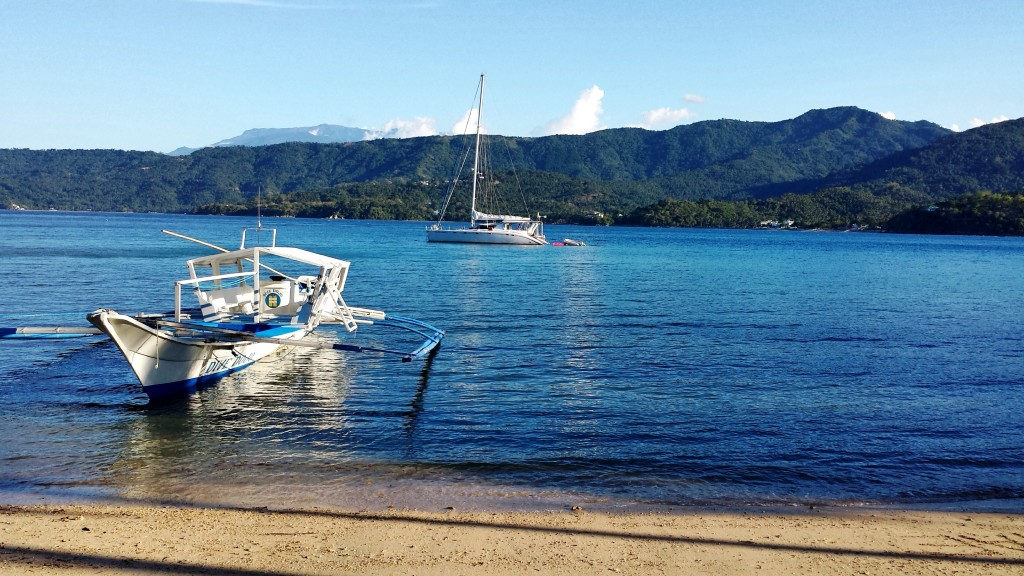The Horror of Black Water from Encenada Beach Resort in Puerto Galera