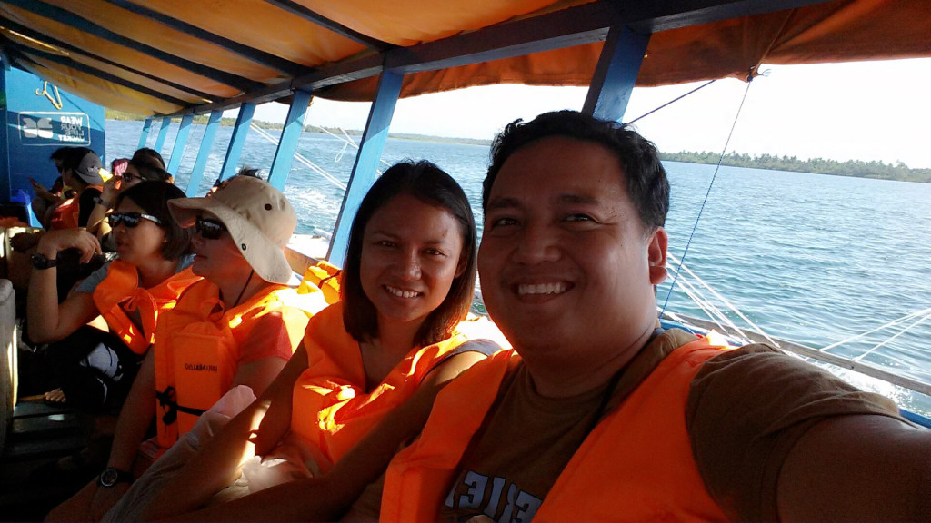 boat ride to Calaguas