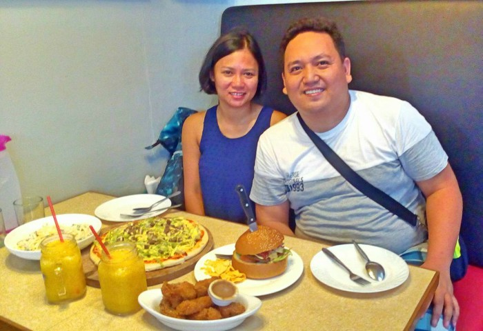 Eat in Cubao Cafe Maria Jerica Restaurant