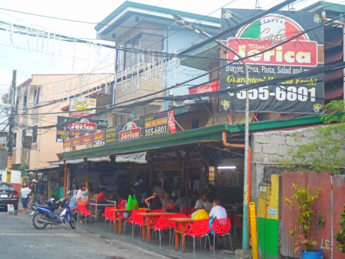 Eat in Cubao Cafe Maria Jerica