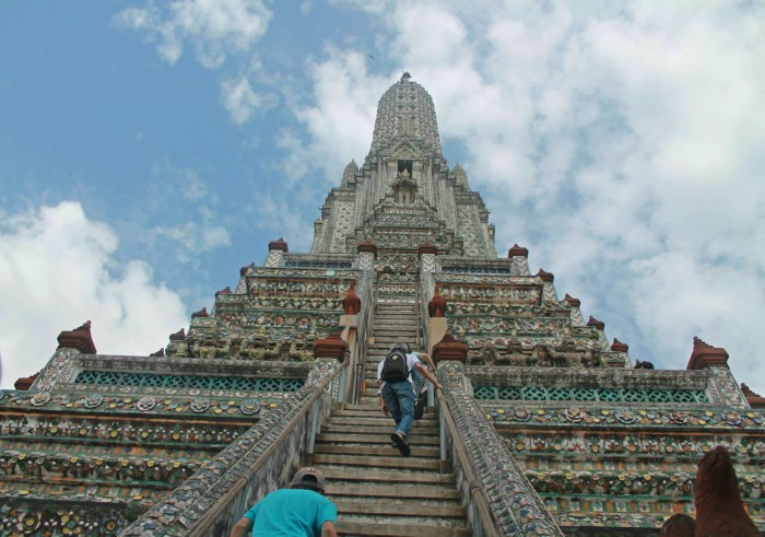Wat Arun in Bangkok, Thailand -The Temple of Dawn