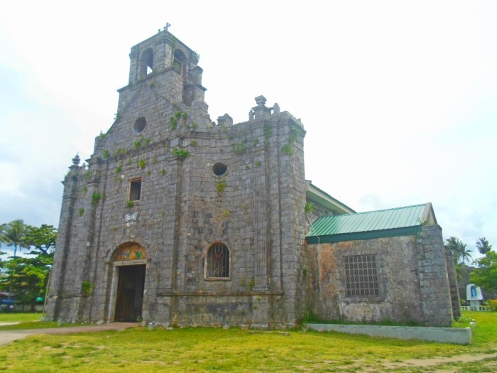 Barcelona Ruins Park Church Sorsogon