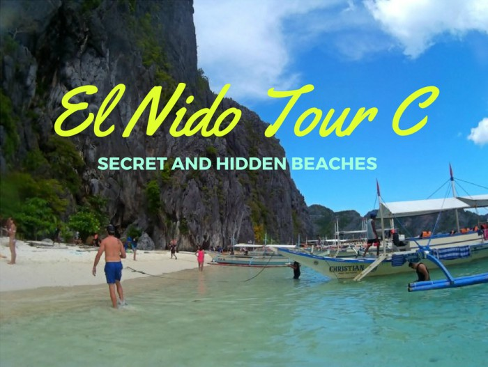 El Nido Tour C : Secret and Hidden Beaches