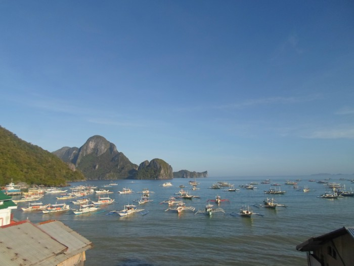 El Nido Hotel: Ocean Vista Inn and its breathtaking view