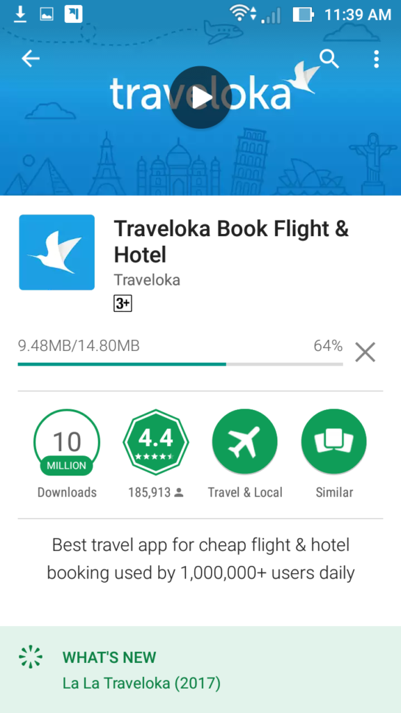 Hotel Booking Traveloka