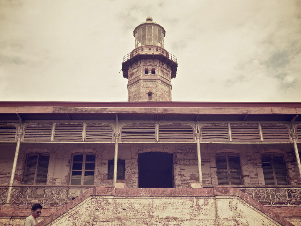 Cape Bojeador Lighthouse in Burgos, Ilocos Norte