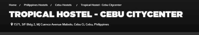Tropical Hostel Cebu
