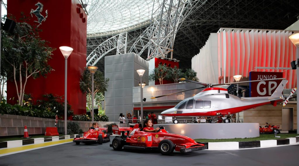The Ferrari World