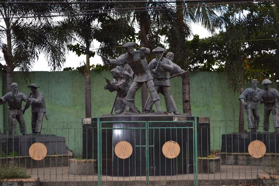 Battle of Binakayan Monument