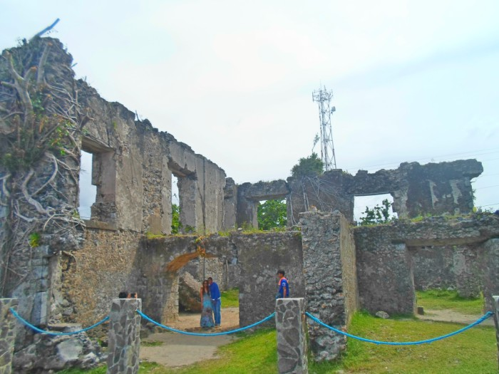 barcelona ruins and church not in spain but in sorsogon