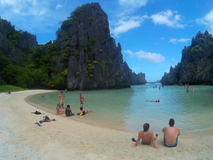 Hidden Beach El Nido Palawan